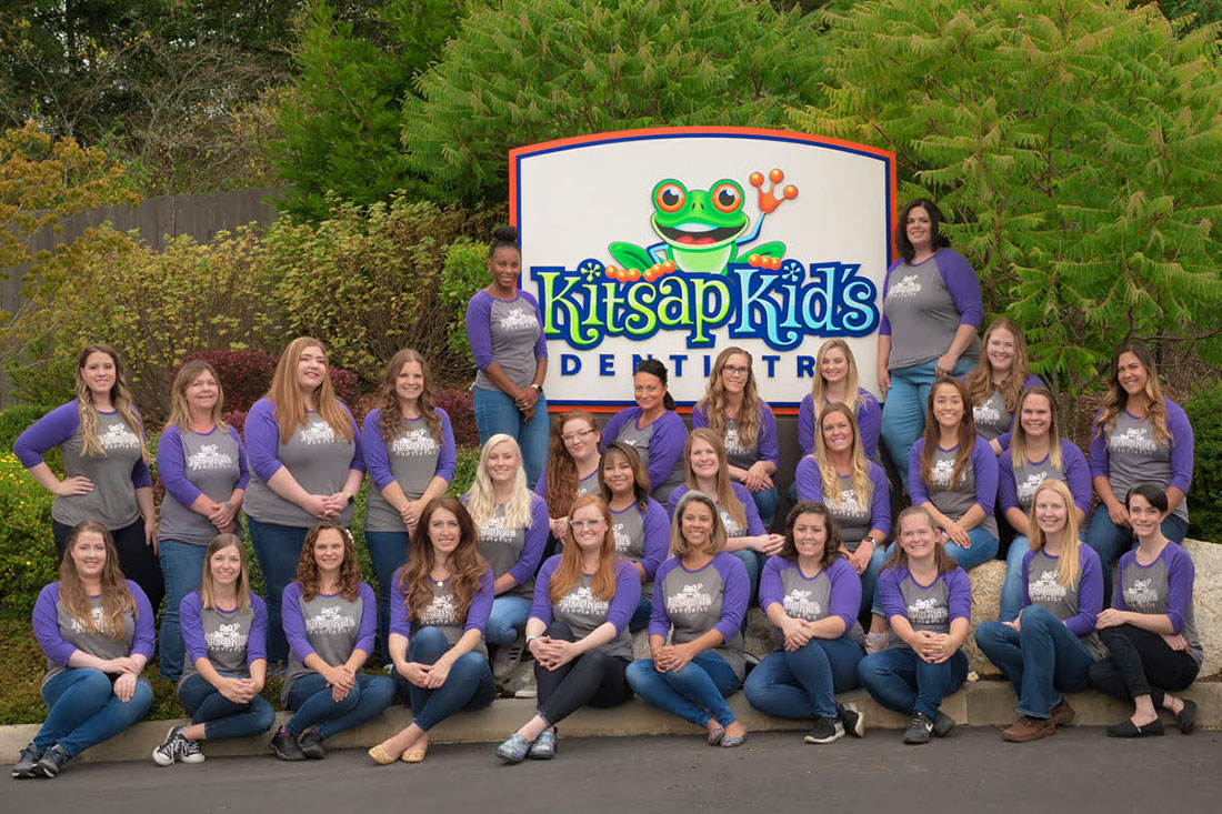 Team at Kitsap Kids Dentistry